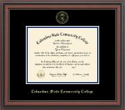 Gold Embossed Diploma Frame in Regency