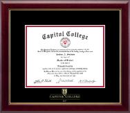 Embossed Diploma Frame in Gallery