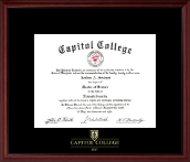 Embossed Diploma Frame in Camby