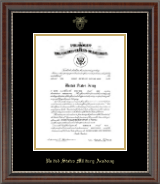 Gold Embossed Commission Certificate Frame in Chateau