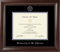 Silver Embossed Diploma Frame in Rainier