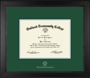 Silver Embossed Diploma Frame in Arena
