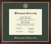 Gold Embossed Diploma Frame in Studio Gold