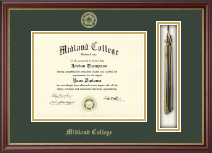 Midland College Tassel Edition Diploma Frame in Newport