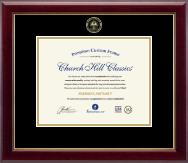 Gold Embossed Magna Cum Laude Diploma Frame in Gallery