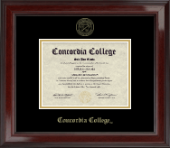 Gold Embossed Diploma Frame in Encore