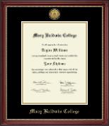 Gold Engraved Diploma Frame in Kensington Gold