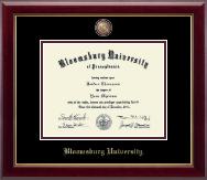 Bloomsburg University Masterpiece Medallion Diploma Frame in Gallery