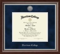 Silver Engraved Diploma Frame in Devonshire
