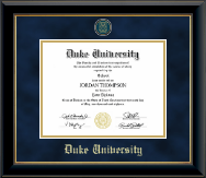 Heirloom Edition Diploma in Onyx Gold