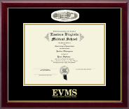 Campus Cameo Diploma Frame in Gallery