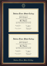 Double Diploma Frame in Lancaster