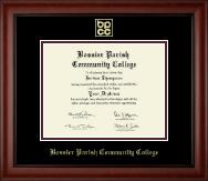 Bossier Parish Community College Gold Embossed Diploma Frame in Cambridge