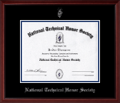 Silver Embossed Certificate Frame in Camby