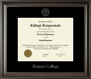 Silver Embossed Diploma Frame in Acadia