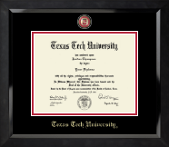 Masterpiece Medallion Diploma Frame in Eclipse