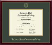 Gold Embossed Diploma Frame in Galleria
