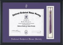 Tassel Edition Certificate Frame in Omega