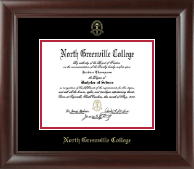 Gold Embossed Diploma Frame in Rainier