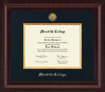 Premier Gold Engraved Edition Diploma Frame in Premier