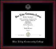 Silver Embossed Academy Edition Diploma Frame in Academy