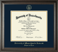 Gold Embossed Diploma Frame in Acadia