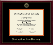 Bowling Green State U.- Gold Embossed Diploma Frame in Galleria