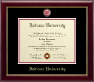 Indiana University Southeast Masterpiece Medallion Diploma Frame in Gallery