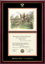 Campus Scene Diploma Frame - Blair Arch in Gallery