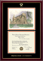Campus Scene Diploma Frame - Chapel in Gallery