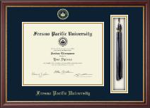 Fresno Pacific University Tassel Edition Diploma Frame in Newport