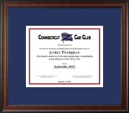 Certificate Frame in Studio