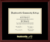 Hopkinsville Community College at Kentucky Gold Embossed Diploma Frame in Camby