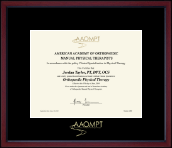 Achievement Edition Certificate Frame in Academy