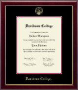 Davidson College Gold Embossed Diploma Frame in Gallery