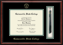 Gainesville State College Tassel Edition Diploma Frame in Southport