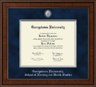 Presidential Pewter Masterpiece Diploma Frame in Madison