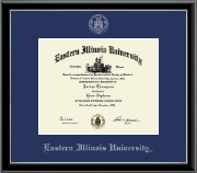 Silver Embossed Diploma Frame in Onexa Silver