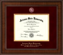 Arizona State University Presidential Masterpiece Diploma Frame in Madison