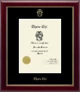 Embossed Certificate Frame in Gallery