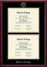 Double Document Diploma Frame in Galleria