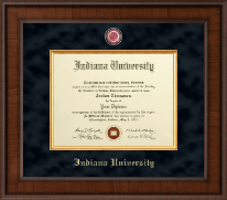 Indiana University Southeast Presidential Masterpiece Diploma Frame in Madison
