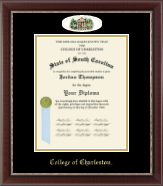 Campus Cameo Diploma Frame in Chateau