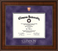 Presidential Shield Masterpiece Diploma Frame in Madison