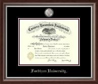 Masterpiece Medallion Diploma Frame in Devonshire
