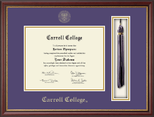 Carroll College at Montana Tassel Edition Diploma Frame in Newport