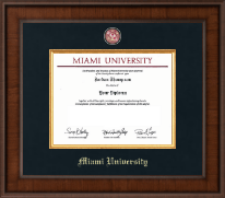 Presidential Brass Masterpiece Diploma Frame in Madison