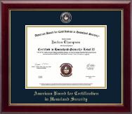 Masterpiece Medallion Certificate Frame in Gallery