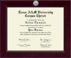Century Silver Engraved Diploma Frame in Cordova