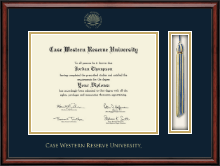 Case Western Reserve University Tassel Edition Diploma Frame in Southport